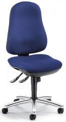 Bürodrehstuhl COMFORT I ohne Armlehnen Blau