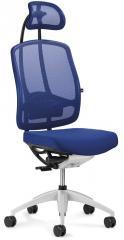 Bürodrehstuhl MATTEGO inkl. Armlehnen Blau | Ja