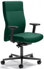 Bürodrehstuhl winSIT ohne Arml. Fuß schwarz, Gegenkrafteinstellung