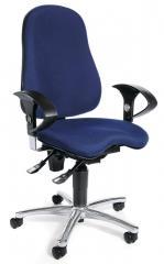 Bürodrehstuhl SITNESS 40 inkl. Armlehnen Blau