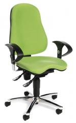 Bürodrehstuhl SITNESS 40 mit Armlehnen Grün