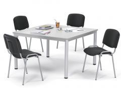 SET-ANGEBOT BASE-MODUL Q - 1x Tisch + 4x Besucherstuhl