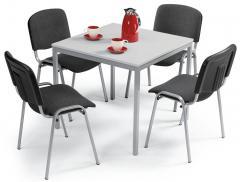SET-ANGEBOT: 1x Tisch BASE-MODUL + 4x Stühle ISO