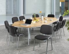SET-ANGEBOT 4x Konferenztisch BASE-MODUL + 10x Stühle