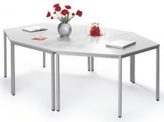SET-ANGEBOT: 3x Konferenztisch (1x Rechteck + 2x Trapez)