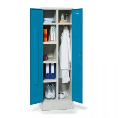 Mehrzweck-Garderoben-Stahlspind Lichtblau RAL 5012