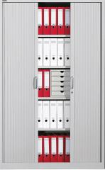 Rollladenschrank BASE LINE Lichtgrau RAL 7035 | 1200 | 1950 mm (5 OH)