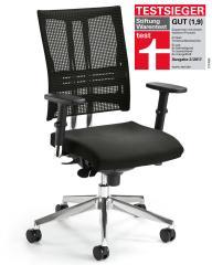 Bürodrehstuhl STAR NET inkl. Armlehnen