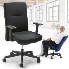 Bürodrehstuhl Ergo PRO mit Armlehnen