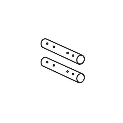 Rohrverbinder seitlich
