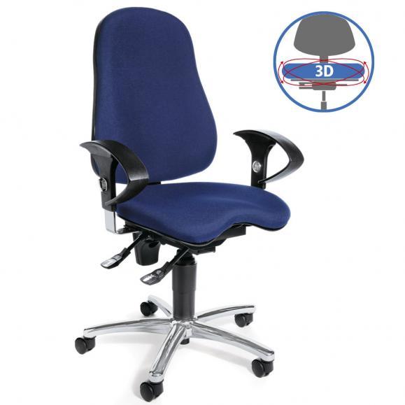 Bürodrehstuhl SITNESS 40 - bewegliche Sitzfläche