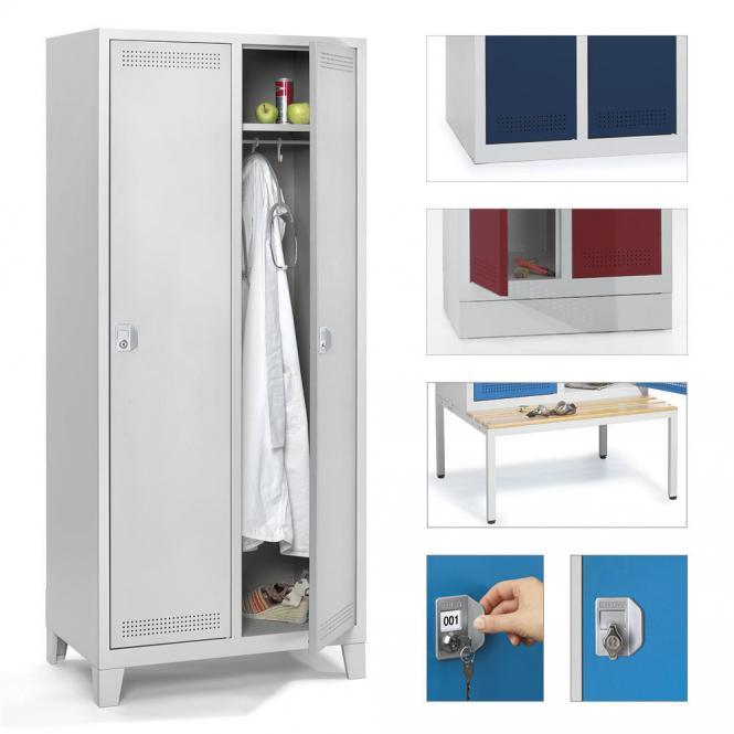 Garderoben-Stahlspinde SP PROFI SYSTEM