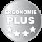 Erfüllt hohe ergonomische Anforderungen gemäß DIN EN 527-1:2011 Typ C und DIN Fachbericht 147