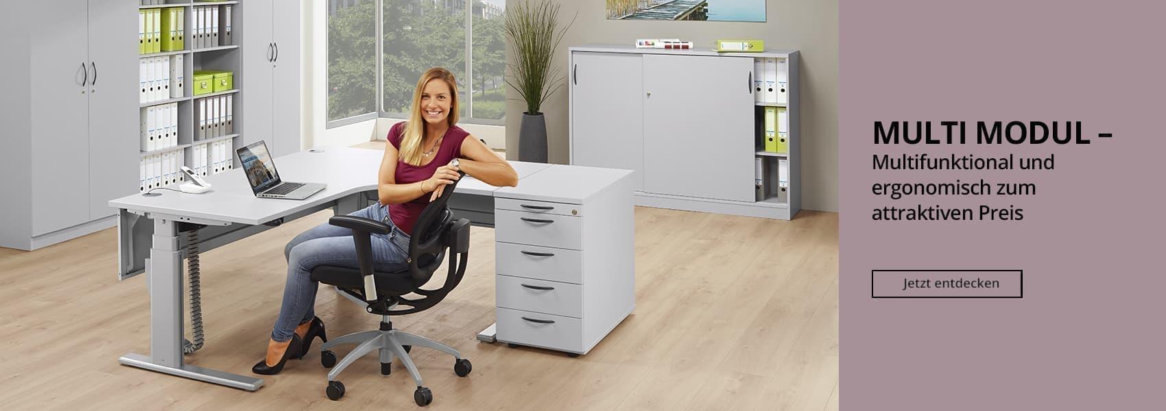 Büromöbelsystem MULTI MODUL