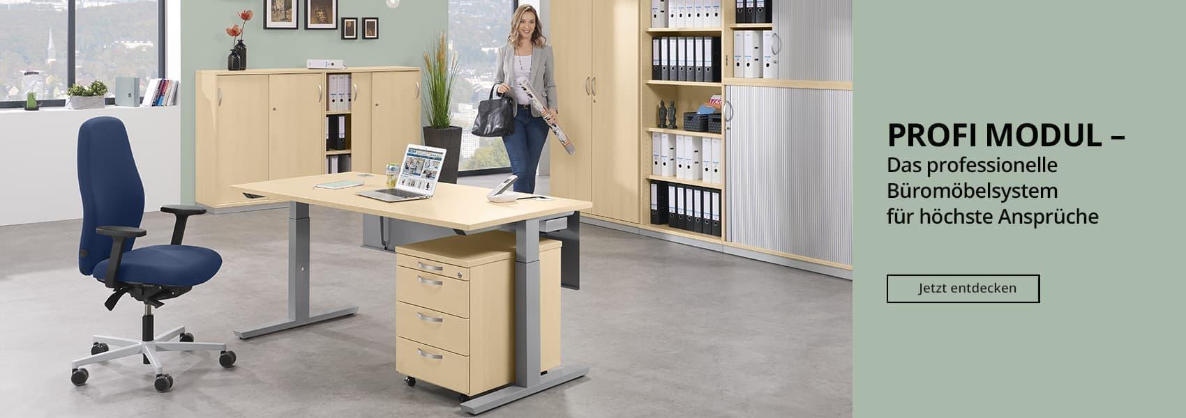 Büromöbelsystem PROFI MODUL